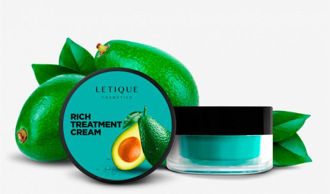Интенсивный питательный крем для лица с авокадо
