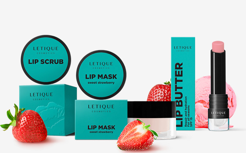 Sweet Strawberry Lip Set