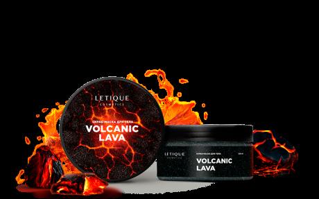 Разогревающий скраб-маска для тела Volcanic Lava