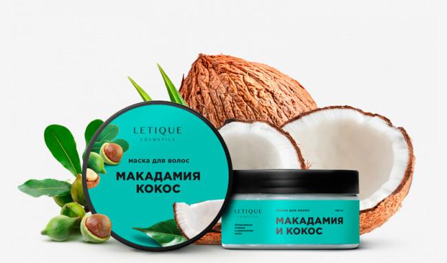 Маска для волос макадамия-кокос