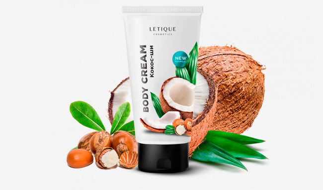 Крем для тела кокос-ши